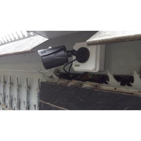 Instalación de cctv de 8 cámaras