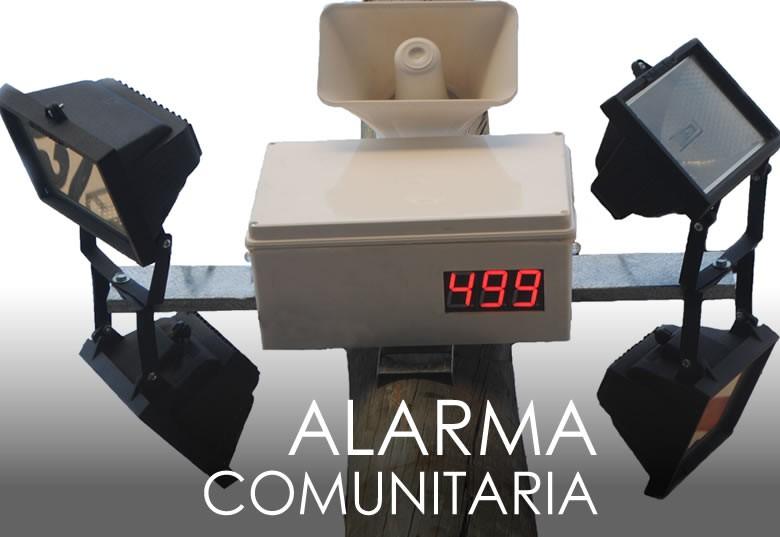 ALARMA COMUNITARIA