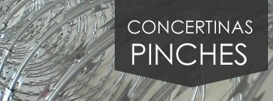 CONCERTINAS Y PINCHES