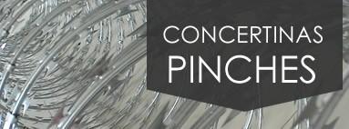 CONCERTINAS Y PINCHES